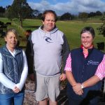 Tasmanian Branch Executive - Aleasha Goss, Phillip Partridge and Haylee Bennett - 2016