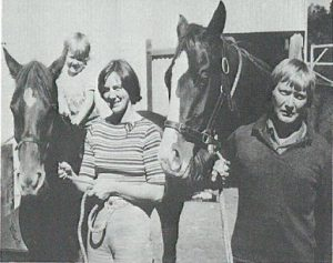 Beryl and Charles Cowcher with daughter Jennifer from 1978. From the booklet 40 years of Simmental in Australia released 2012